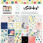 American Crafts - Saturday Collection - 12 x 12 Paper Pad
