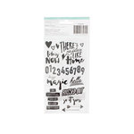 American Crafts - Saturday Collection - Black Varnish Stickers