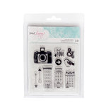 American Crafts - Saturday Collection - Clear Acrylic Stamps