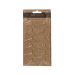 American Crafts - DIY Shop 4 Collection - Paperclips - Hangers - Gold Plated