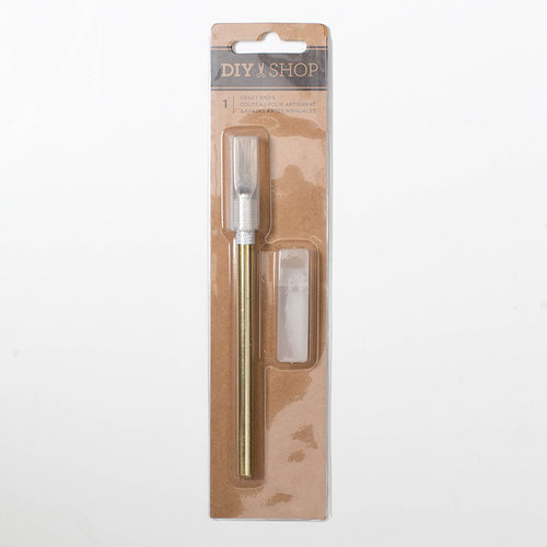 American Crafts - DIY Shop 4 Collection - Craft Knife - Gold Plated