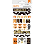 American Crafts - Halloween Collection - Puffy Stickers
