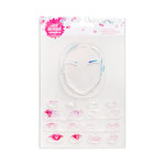 American Crafts - Mixed Media - Clear Acrylic Stamps - One