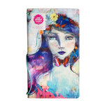 American Crafts - Mixed Media - Butterfly Effect System - Book - Girl