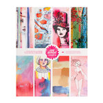 American Crafts - Mixed Media - 8 x 9.5 Collaging Paper Pad