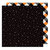 American Crafts - Halloween Collection - 12 x 12 Double Sided Paper - Starry Night