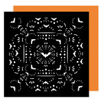 American Crafts - Halloween Collection - 12 x 12 Double Sided Paper - Elegantly Eerie