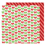 American Crafts - All Wrapped Up Collection - Christmas - 12 x 12 Double Sided Paper - All Wrapped Up