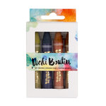 American Crafts - Vicki Boutin - Mixed Media - Art Crayons - Set 3