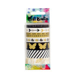 American Crafts - Mixed Media Collection - Washi Tape - Metallic