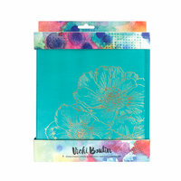 American Crafts - Mixed Media Collection - Storage Binder with Foil Accents