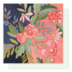 1 Canoe 2 - Hazelwood Collection - 12 x 12 Double Sided Paper - Rosewater
