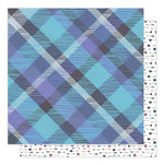 1 Canoe 2 - Hazelwood Collection - 12 x 12 Double Sided Paper - Woodland Plaid