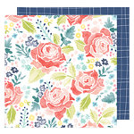 American Crafts - Lovely Day Collection - 12 x 12 Double Sided Paper - Lovely Day