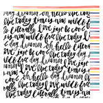 American Crafts - Lovely Day Collection - 12 x 12 Double Sided Paper - Dreamer