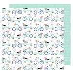 American Crafts - Lovely Day Collection - 12 x 12 Double Sided Paper - More Play