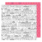 American Crafts - Lovely Day Collection - 12 x 12 Double Sided Paper - One Fine Day