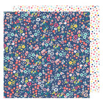 American Crafts - Lovely Day Collection - 12 x 12 Double Sided Paper - Oh Hello