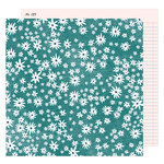 American Crafts - Lovely Day Collection - 12 x 12 Double Sided Paper - Darling Daisy