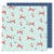 American Crafts - Lovely Day Collection - 12 x 12 Double Sided Paper - Foxy Friend