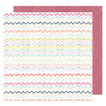 American Crafts - Lovely Day Collection - 12 x 12 Double Sided Paper - More Friday