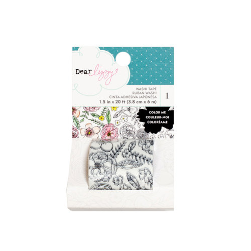 American Crafts - Lovely Day Collection - Coloring Washi Tape Roll