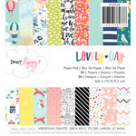 American Crafts - Lovely Day Collection - 6 x 6 Paper Pad