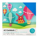 American Crafts - 12 x 12 Cardstock Pack - 60 Sheets - Brights