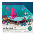 American Crafts - 12 x 12 Cardstock Pack - 60 Sheets - Jewel