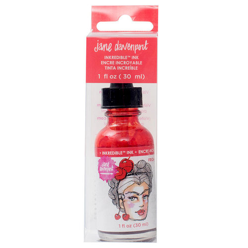 American Crafts - Mixed Media 2 - INKredible - Scented Ink - Frida
