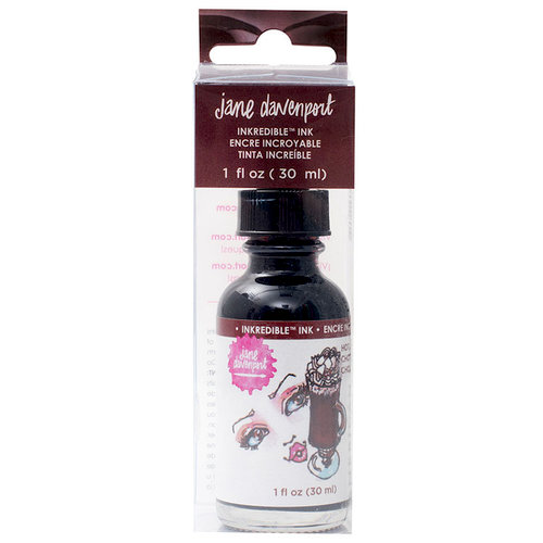 American Crafts - Mixed Media 2 - INKredible - Scented Ink - Hot Cocoa