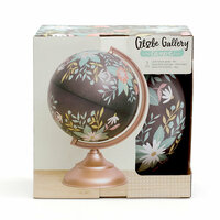 1 Canoe 2 - Globe Gallery Collection - Globe - 8 Inches - Wildflower
