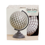 1 Canoe 2 - Globe Gallery Collection - Globe - 8 Inches - Gingham