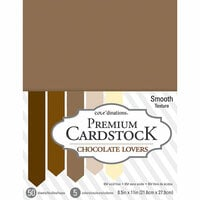 Core'dinations - 8.5 x 11 Cardstock - Value Pack - Chocolate Lovers - 50 sheets