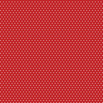 Core'dinations - 12 x 12 Single Sided Paper - Red Small Dot