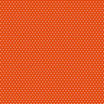 Core'dinations - 12 x 12 Paper - Orange Small Dot