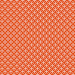 Core'dinations - 12 x 12 Paper - Orange Graphic Circle