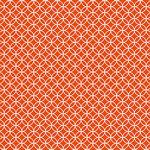 Core'dinations - 12 x 12 Paper - Orange Graphic Circle