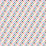 Core'dinations - 12 x 12 Paper - Light Pink Multidot