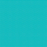 Core'dinations - 12 x 12 Paper - Teal Small Dot