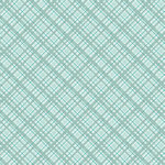 Core'dinations - 12 x 12 Paper - Teal Plaid