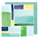 American Crafts - Little By Little Collection - 12 x 12 Double Sided Paper - Happy Progress