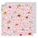 American Crafts - Little By Little Collection - 12 x 12 Double Sided Paper - Seeing Magic