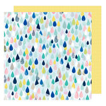 American Crafts - Little By Little Collection - 12 x 12 Double Sided Paper - Pint-Sized Fun