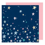 American Crafts - Little By Little Collection - 12 x 12 Double Sided Paper - Shine Bright