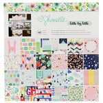 American Crafts - Little By Little Collection - 12 x 12 Paper Pad