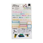 American Crafts - Bible Journaling Collection - Cardstock Stickers - Traditional