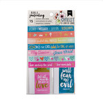 American Crafts - Bible Journaling Collection - Notecards and Washi Strips
