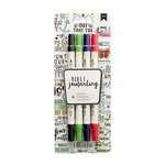 American Crafts - Bible Journaling Collection - Dual Tip Markers - Primary