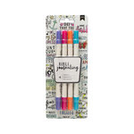 American Crafts - Bible Journaling Collection - Dual Tip Markers - Bright